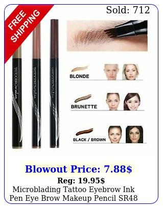 microblading tattoo eyebrow ink pen eye brow makeup pencil s