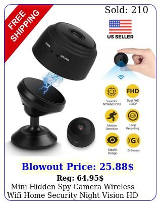 mini hidden spy camera wireless wifi home security night vision hd