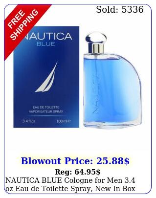 nautica blue cologne men oz eau de toilette spray i