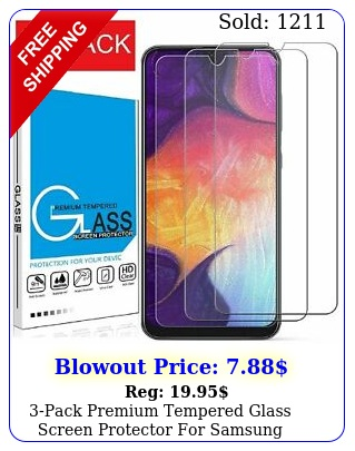 pack premium tempered glass screen protector samsung galaxy a a
