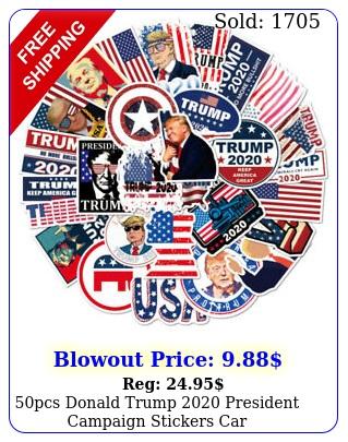 pcs donald trump president campaign stickers car bumperrepublican part