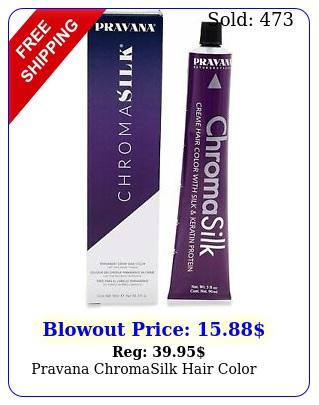 pravana chromasilk hair color