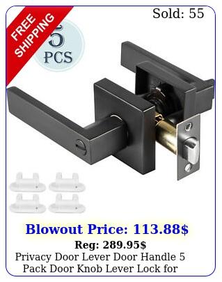 privacy door lever door handle pack door knob lever lock bedroom squar