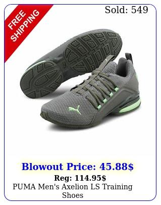 puma men's axelion ls training shoe