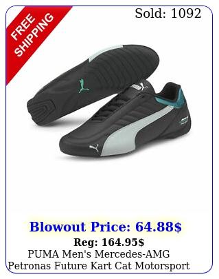 puma men's mercedesamg petronas future kart cat motorsport shoe