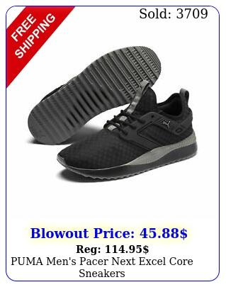 puma men's pacer next excel core sneaker