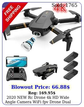 rc drone k hd wide angle camera wifi fpv drone dual camera quadcopte