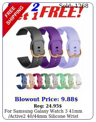 samsung galaxy watch mm active mm silicone wrist band sport stra