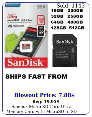 sandisk micro sd card ultra memory card with microsd to sd adapter wholesale lo