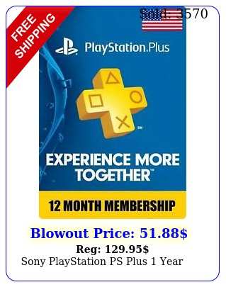 sony playstation ps plus yea