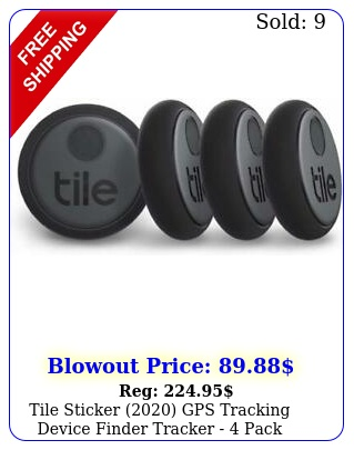 tile sticker gps tracking device finder tracker  pac