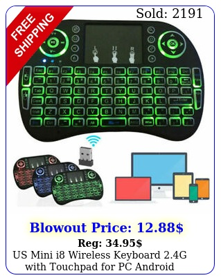 us mini i wireless keyboard g with touchpad pc android desktop pc t