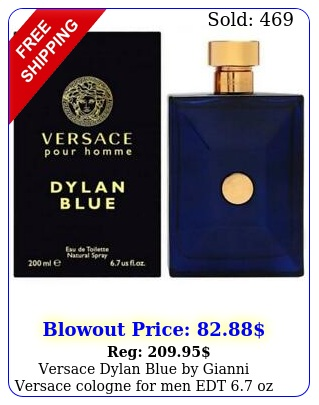 versace dylan blue by gianni versace cologne men edt oz i