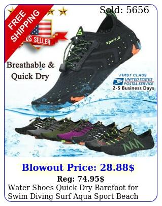water shoes quick dry barefoot swim diving surf aqua sport beach vactio