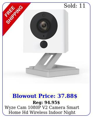 wyze cam p v camera smart home hd wireless indoor night vision outdoo