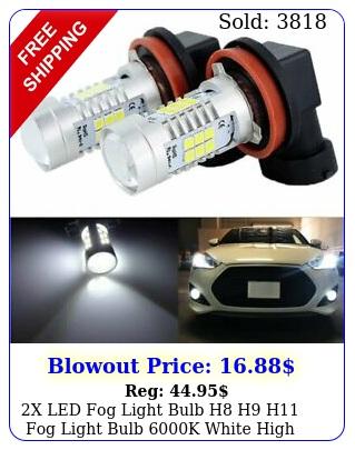 x led fog light bulb h h h fog light bulb k white high power w lamp
