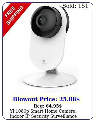 yi p smart home camera indoor ip security surveillance system night visio